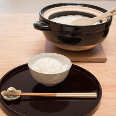 How to Cook White Rice with Kamado-san