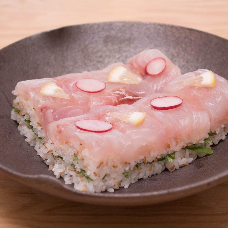 Pressed Sea Bream Sushi